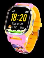 Детские часы Tencent PQ708 QQ Watch Smart GPS WIFI Camera синий, Цветной