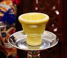 Запасная чашка для кальяна Жёлтая
