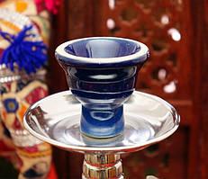 Запасная чашка для кальяна Синяя