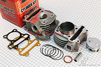 Цилиндр к-кт (цпг) 100cc-50мм +ГОЛОВКА(с клапанами)