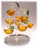 Денежное дерево 8 чаш изобилия цветное стекло