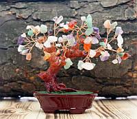 """Дерево """"Счастья"""" с камнями Микс"""