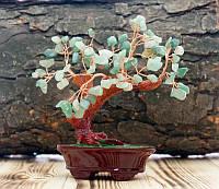"""Дерево """"Счастья"""" с камнями Хризолит"""