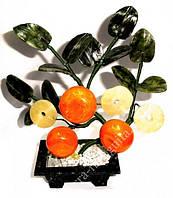 Дерево 3 мандарина + 3 монеты