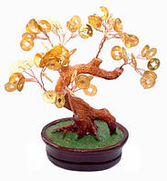 Дерево с золотыми монетами
