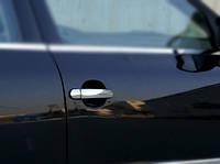 Volkswagen Bora 1998-2004 гг. Накладки на ручки (4 шт, нерж) Carmos - Турецкая сталь
