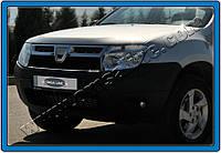Dacia Duster 2008+ гг. Накладки на решетку радиатора (нерж.)