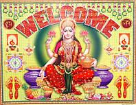 "Постер ""Индийские боги"" Лакшми Welcome AAP 074"