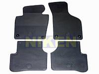 Volkswagen Passat B6 2006-2012 гг. Оригинальные резиновые коврики (4 шт)
