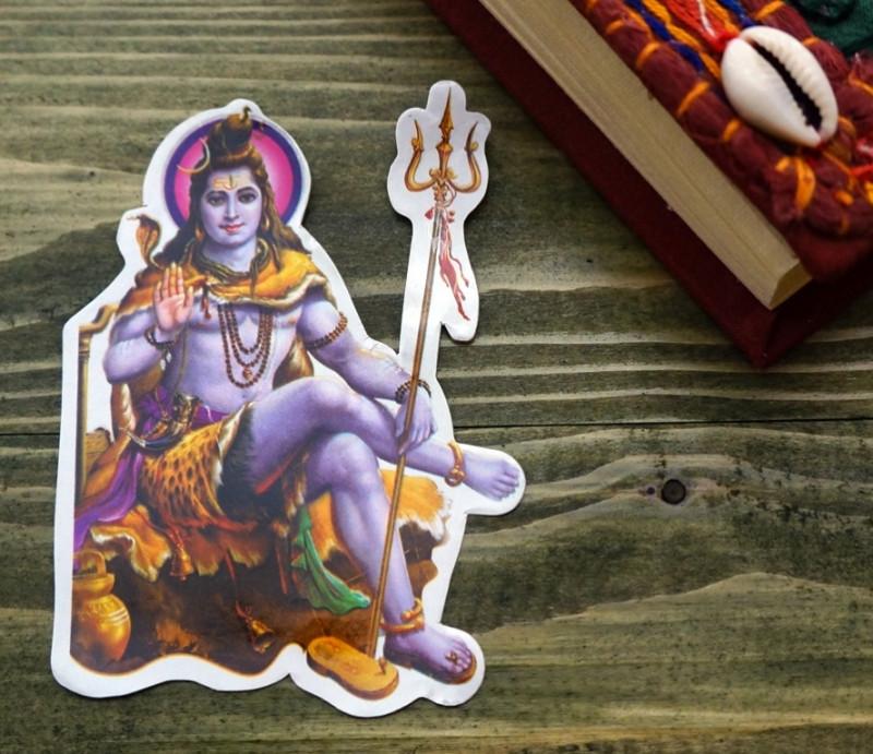 """Стикер бумажный """"Индийские боги"""" №19"""
