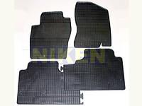 Nissan Juke 2010+ гг. Оригинальные резиновые коврики (4 шт, Doma)