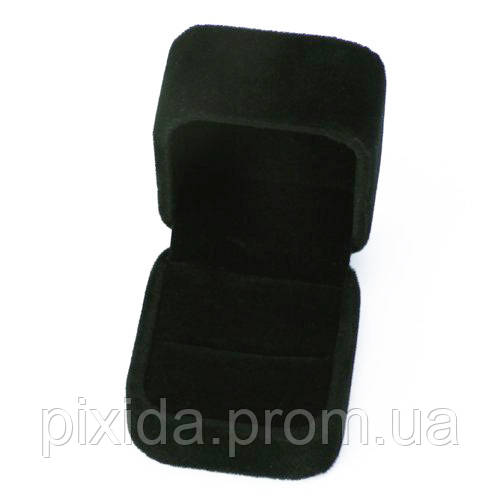 Коробочка подарочная 4,5х4х3,5. Черный бархат