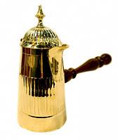 Турка желтый метал с крышкой Арт.10411
