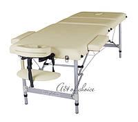 Трехсекционный алюминиевый массажный стол JOY