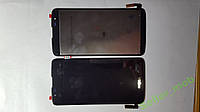 Дисплей (экран) LG Tribute 5, LS675 с черным сенсором original.