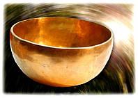 Чаша поющая кованная Индия d = 28 - 29 см.