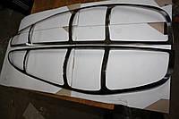 Mercedes Vito W639 2004-2015 гг. Накладки на стопы (2 шт, нерж.)