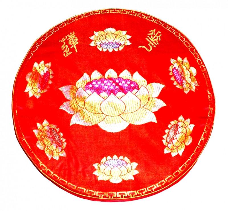 Подушка для медитации с поролоном малая красная - ОПТОВЫЙ ДИСКАУНТЕР MIXOPTMARKET в Киеве