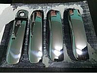 Audi A6 C6 2004-2011 гг. Накладки на ручки (4 шт., нерж.)