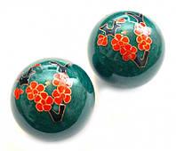 Массажные шары Баодинга в эмали Сакура