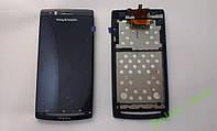Дисплей (экран) Sony-Ericsson  LT15, LT18 с рамкой.