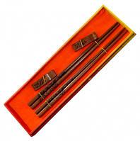 Палочки для еды деревянные 2 пары №13