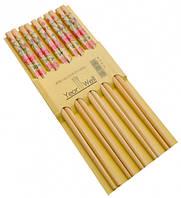 Палочки для еды деревянные комплект из пяти пар №18