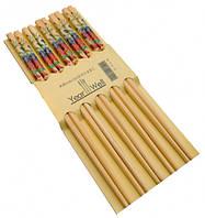 Палочки для еды деревянные комплект из пяти пар №20