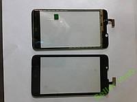 Сенсорное стекло Fly IQ441  (не Quad) черное high c.