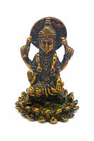 Статуэтка бронзовая Лакшми на лотосе