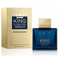 Мужская туалетная вода Antonio Banderas King of Seduction Absolute (Антонио Бандерас Кинг Оф Седакшн Абсолют)