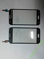 Сенсорное стекло Samsung G360H, Galaxy Core Prime темно-серое high copy.