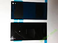 Крышка задняя Sony Xperia  Z1,  C6902, C6903 черная.