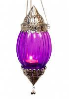 Светильник в арабском стиле DL9557 Сиреневый