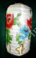 "Фонарь бумажный ""Гармошка"" Цветы + Бабочки"