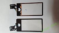 Сенсорное стекло Apple iPod  Nano 7 черное.