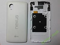 Крышка задняя LG D820,  Nexus 5 с антенной белая or.