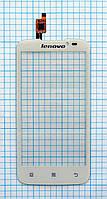 Тачскрин сенсорное стекло для Lenovo A516 white