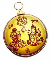 Янтра Сидхи Винаяк Ганеш Лакшми настенная под стеклом