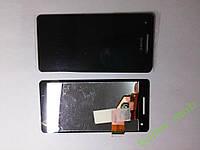 Дисплей (экран) Sony Xperia  V, LT25i с черным сенс.