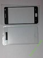 Стекло Samsung I9100, Galaxy S II  белое high copy.
