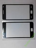 Стекло Samsung I9100, Galaxy S II  черное high copy.