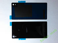 Крышка задняя Sony Xperia Z3,  D6603 черная origina.