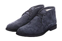 Ботинки мужские CG Desert Boots Winter Suede Grey, зимние ботинки челио гуцци серные