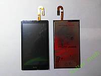 Дисплей (экран) HTC Desire 610  с сенсором черный original.