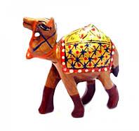 """Верблюд деревянный стиль """"хохлома"""" кедр С5633-2"""""""