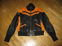 Куртка кожаная FIRETRAP, ВИНТАЖ, S-M, в хорош сост