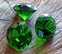 Кристал стекло Зелёный