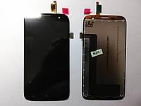 Дисплей (экран) Lenovo A859 с  сенсором черный orig.