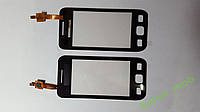 Сенсорное стекло Samsung S5250  черное high copy.